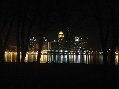 Louisville skyline from Clarksville
