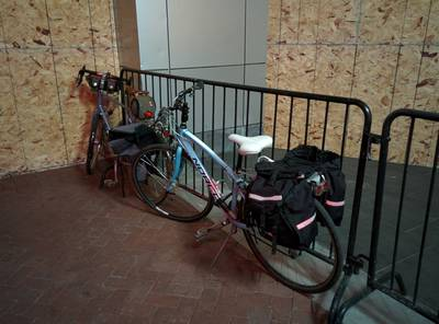 Lousy bike parking